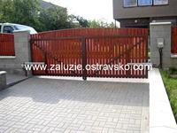 Otočná brána Karviná
