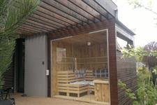 Výroba ocelového rámu a opláštění sauny