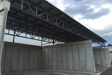 Ocelová konstrukce + střecha - váha 21 000kg