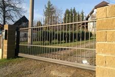 Samonosná posuvná kovaná brána, Koruna